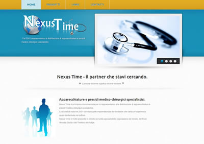 Nexus Time web site